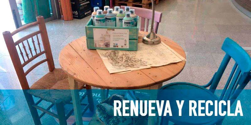 La Casa del Color Renueva y recicla